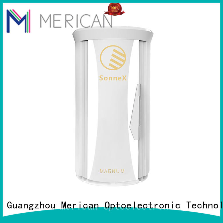 Merican premium quality commercial tanning bed the latest beauty technology for man