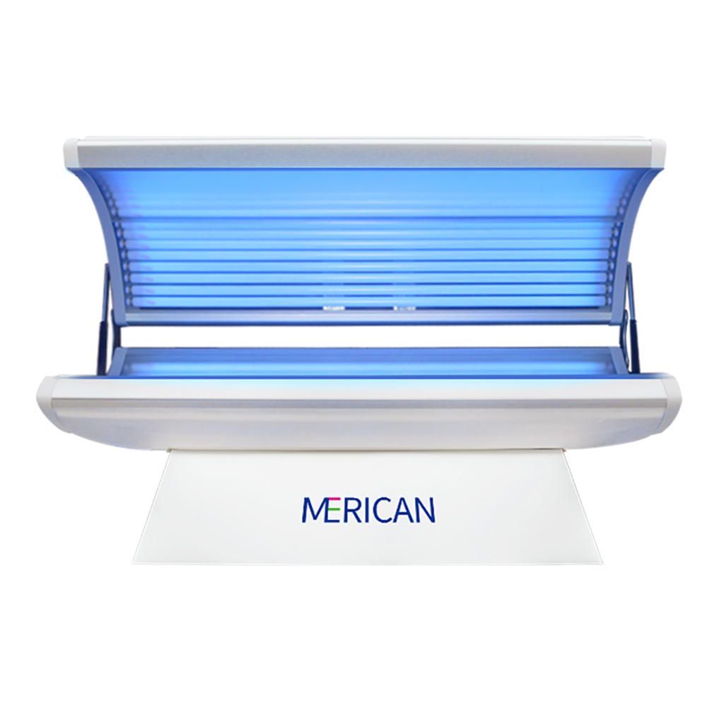 Factory Price Sunshine Factory Direct Price Home Sunbed /Horizontal Solar Tanning Bed for whole body Wholesale-Merican