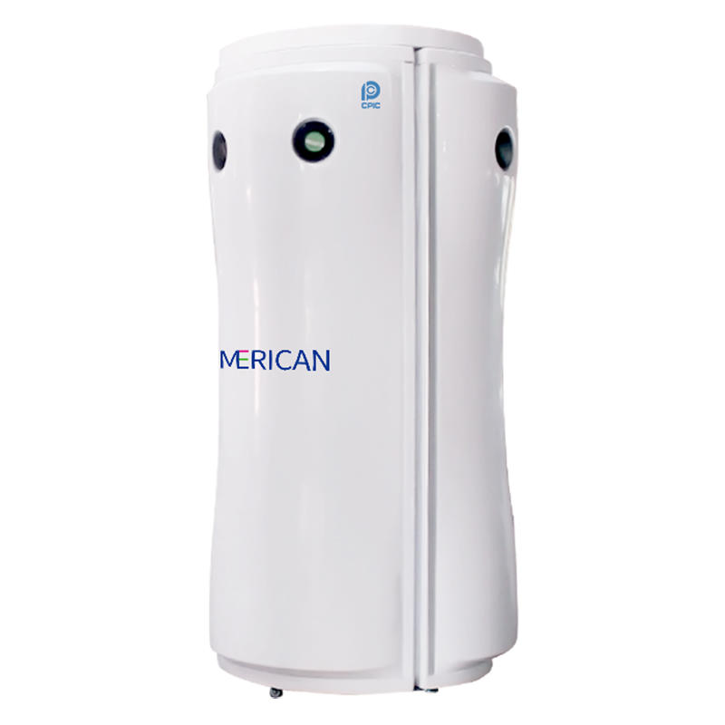 Merican Sunshine Vertical Solarium indoor tanning F7 with Cosmedico tanning tubes 180W