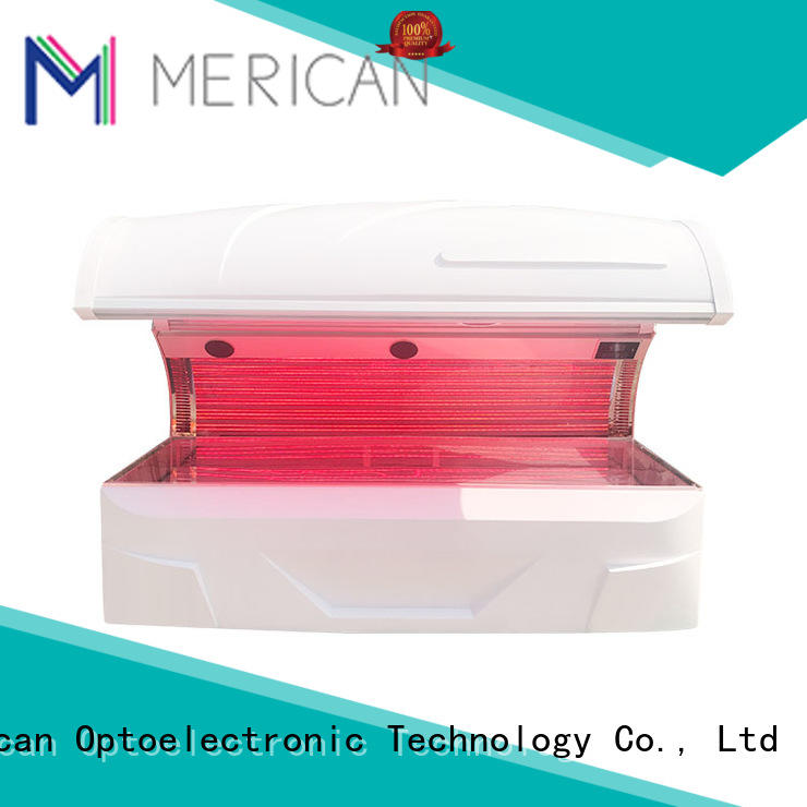 Merican Custom led therapy bed company for tanning